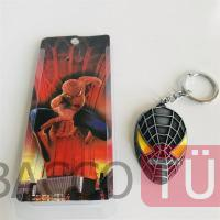 The Avengers Spiderman 3d Logo Metal Anahtarlık